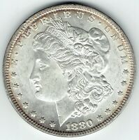 1880-P $1 MORGAN SILVER DOLLAR