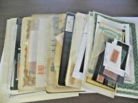 US WONDERFUL ACCUMULATION OF REVENUE STAMPS & OTHERS