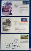 US FIRST DAY COVERS FROM THE 1970'S LOT OF 3 DIFFERENT CLASS