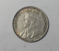 1914  CANADA   25 CENTS BETTER DATE COLLECTOR COIN ORIGINAL SHARP GRADE 8 PEARLS