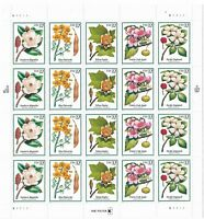 1998 FLOWERING TREES FULL SHEET OF 20 UNUSED 32 CENT STAMPS