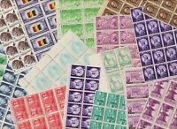 U.S. OVER 1000 MINT NH STAMPS   SEE FOUR SCANS
