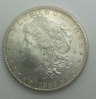 1882 S SAN FRANCISCO SILVER DOLLAR MINT STATE BOOMING LUSTRE LIGHT TONE
