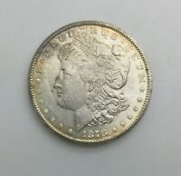 1878  CC CARSON CITY SILVER DOLLAR  MINT STATE LUSTRE LIGHT TONING A FEW MARKS