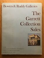 BOWERS & RUDDY GALLERIES THE GARRETT COLLECTION SALES MARCH 25 26 1981