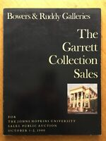 BOWERS & RUDDY GALLERIES THE GARRETT COLLECTION SALES OCT. 1 2  1980 PAPERBACK