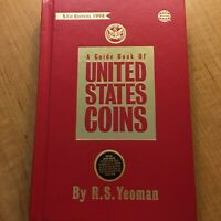 1998 OFFICIAL RED BOOK A GUIDE OF UNITED STATES COINS 51ST EDITION BY RS YEOMAN