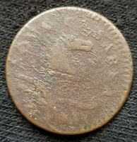 1786 NEW JERSEY COPPER OLD US COLONIAL COIN