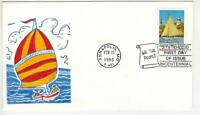 HANDPAINTED FDC 2342 ANNAPOLIS MARYLAND STATEHOOD 2342 BY RI
