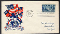 1942 CHINESE RESIST JAPANESE AGGRESSION  SCOTT 906    WWII PATRIOITC FDC QC893