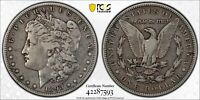 1893-S MORGAN SILVER DOLLAR PCGS GOLD SHIELD/SECURE F12 THE KEY DATE