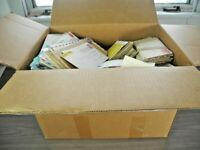 US EXCELLENT ACCUMULATION OF 3000  COVERS & OTHERS HOUSED IN A LARGE CARTON