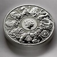 2021 QUEEN'S BEAST COLLECTION COIN 2 OZ 9999 SILVER UK COIN BREXIT GRIFFIN LION