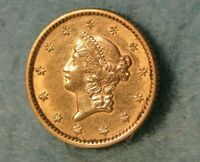 1853 LIBERTY HEAD $1 ONE DOLLAR UNITED STATES GOLD COIN HIGH