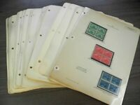 US FANTASTIC OLD TIME STAMP COLLECTION OF MINT MOST NH  BLOC