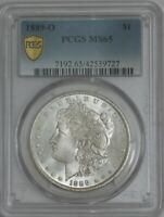 1889-O MORGAN SILVER DOLLAR $ MINT STATE 65 SECURE PCGS 944418-5