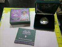 GREAT BRITAIN 2000 5 POUNDS PIEDFORT CENTENARY CROWN SILVER