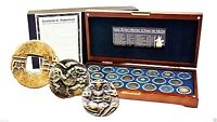 ANCIENT SILK ROAD CIVILIZATIONS 20 BRONZE COIN COLLECTION IN
