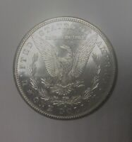 1881 S MORGAN SILVER DOLLAR  MINT STATE COIN FLASHY VAM 42A WING DIE SCRATCH