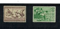 US SCOTT  RW16 AND RW20 MINT/ VF / NH FEDERAL DUCK STAMPS  S
