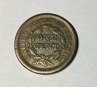 1854  LARGE CENT  PLEASING ORIGINAL COIN NICE COLOUR TYPE COIN 2