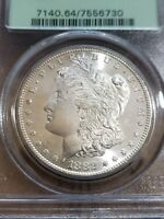 PCGS EXCELLENT CARTWHEEL LUSTER 1882-S SILVER $ OLD GREEN HOLDER-OGH PCGS OGH
