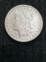 MORGAN 1896-0 MORGAN SILVER DOLLARS ONLY CLIMB IN VALUE EXCELLENT INVESTMENT