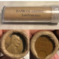 OLD ROLL LINCOLN WHEAT CENTS 1909 S / VDB END COINS OBW SAN