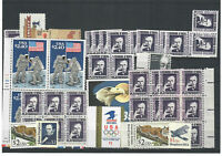 US $72.00 FACE MINT/NH POSTAGE LOT OF $1 TO $9.35 HIGHER DEN