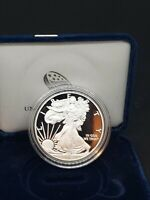 2015-W AMERICAN 1 OZ SILVER EAGLE PROOF USA MADE CAPSULED DOLLAR COIN