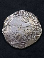 1600'S 1700'S POTOSI 8 REALES ASSAYER B 26.8G RUDY LEWIS COL