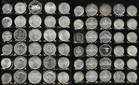 60 BIG SILVER OLD WORLD COINS > BU BEAUTIES   >  38  TROZ GR