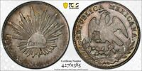 H22 MEXICO 1863 MO CH 2 REALES PCGS MS 61 TOP POP:1/1 ONLY 1