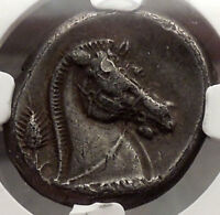 FIRST SILVER COIN OF ROMAN REPUBLIC 326 BC NGC CERTIFIED CHOICE VF FINE STYLE