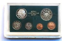 1982  AUSTRALIAN PROOF SET OF 6  COINS   X11 COMMONWEALTH  GAMES