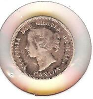 1887        5 CENTS        CANADA  VERY   497 402