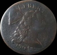 1794 UNITED STATES LIBERTY CAP FLOWING HAIR CENT COIN GOOD HEAD OF 1794