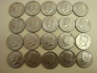 LOT OF 20 KENNEDY HALF DOLLAR COINS 1776 1976 EXCELLENT CONDITION