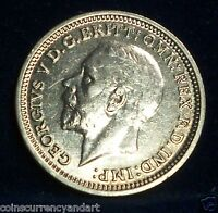 UK THREEPENCE 1935 / HIGH GRADE / 3 PENCE  GREAT BRITAIN / ONE OF THE BEST