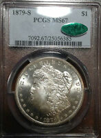 $1 MORGAN 1879-S PCGS MINT STATE 67 CAC