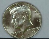 1977 P KENNEDY HALF DOLLAR PREMIUM QUALITY MS/BU/UNC MINT STATE US COIN PQ