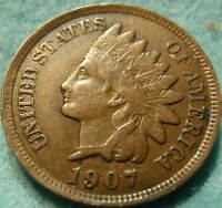 1907 FULL LIBERTY INDIAN HEAD GREAT DETAILS