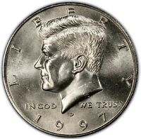 1997 D KENNEDY HALF DOLLAR PREMIUM QUALITY MS/BU/UNC MINT STATE US COIN PQ