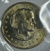 1979 D SUSAN B ANTHONY UNCIRCULATED DOLLAR IN MINT CELLO  BL29