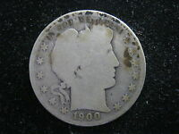 1900 S BARBER HALF ABOUT GOOD  CONDITION