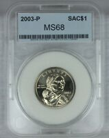 2003 P SAC$1 MINT STATE SACAGAWEA DOLLAR EXCELLENT HIGH GEM QUALITY US COINF21