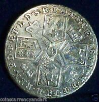 UK  SILVER COIN   1787 GREAT BRITAIN SHILLING