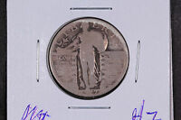 1927 STANDING LIBERTY 25 CENT SILVER QUARTER - 90 SILVER - SHIPS FREE