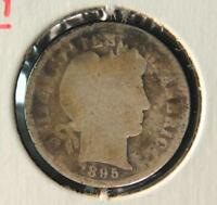 1895 O BARBER DIME KEY DATE US SILVER COIN 1095