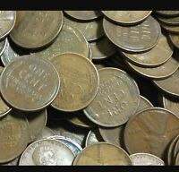 10,000 WHEAT CENTS  HUGE LOT. SILVER DIMES AND KEY DATES FOUND